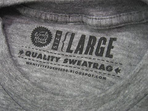 t shirt label: Custom Tagless Care Tags