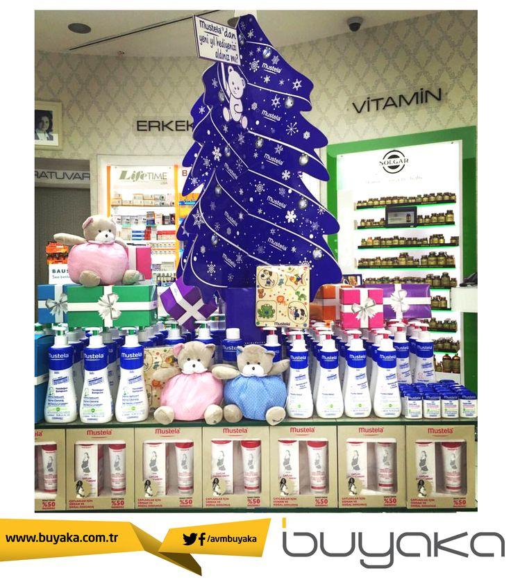 Yeni yıl hediyeniz Buyaka Eczanesinden! Mustela'dan alacağınız saç vücut şampuanı, saç şampuanı ve nemlendirici vücut losyonu ürünlerinde 2.si %50 indirimle!