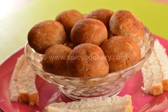 Bread Unniyappam | http://spicycookery.com/bread-unniyappam/
