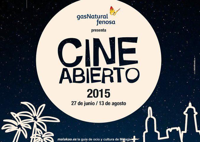 Este verano, pasa las noches al aire libre con el cine abierto
