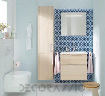 #bathroom #furniture #interior #design #interiordesign #designideas  комплект в ванную Burgbad Eqio, SEZE062/HSFB035/SIGP065