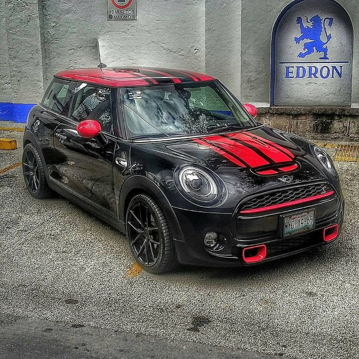 Mini Cooper S JCW kit black and red