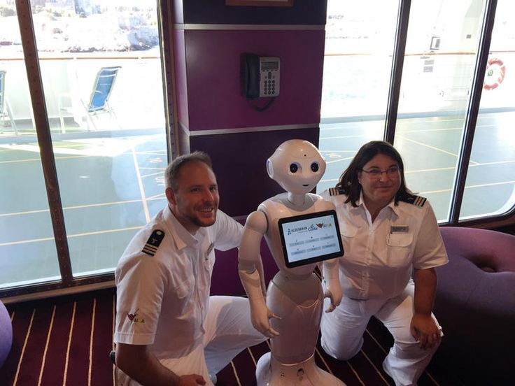 Learn what the 4-foot humanoid robot will be doing to help customers on the cruise ship.