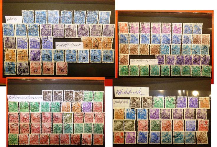 DDR Briefmarken Fünfjahrplan
