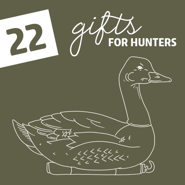 22 Gifts for Hunters- that will improve their skills.