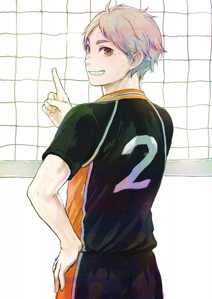 Sugawara Koushi. His smile is the cutest thing I've ever seen.