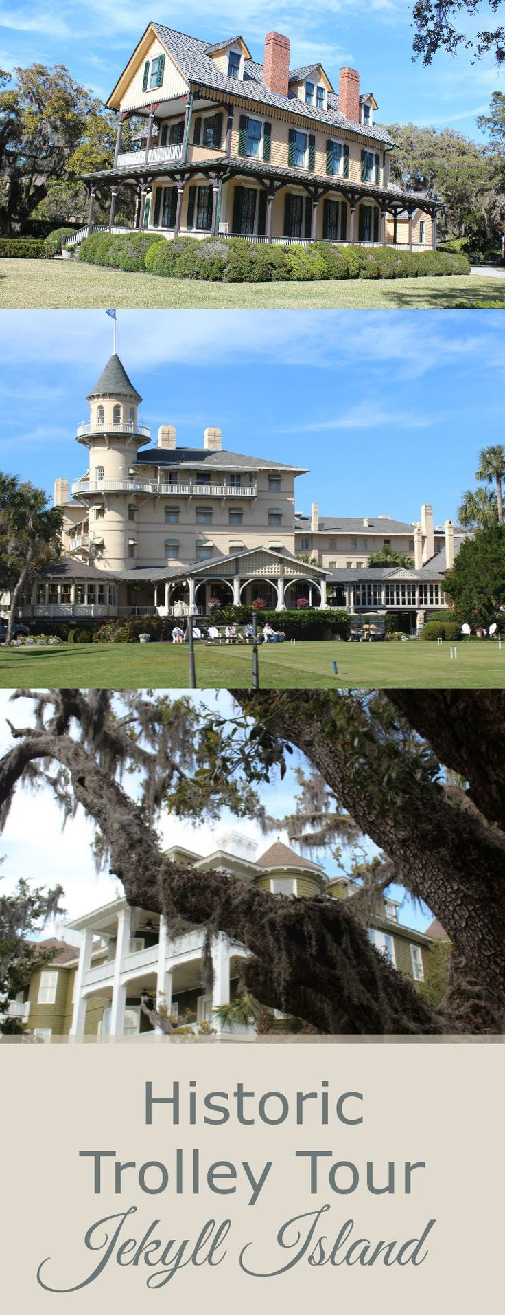 Jekyll Island Club tours: Once the playground of American tycoons, now a playground for all. So entertaining!
