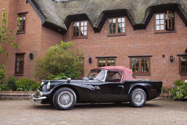 "1964 Daimler SP250 Roadster  - estimate £45,000 - 55,000. ""Dart"" prices just keep creeping up..."
