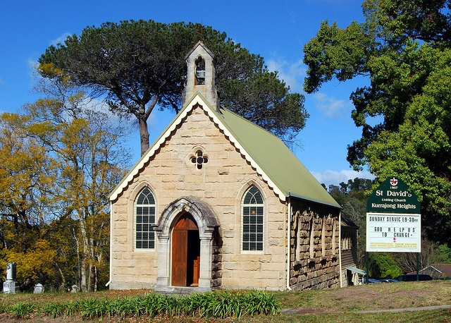 St David's Uniting Church, Kurrajong Heights, NSW - 1 hours from Syd