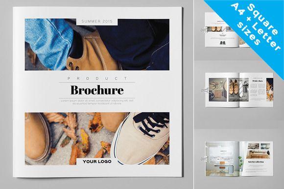 Product Brochure / Catalog by Kahuna Design on Creative Market