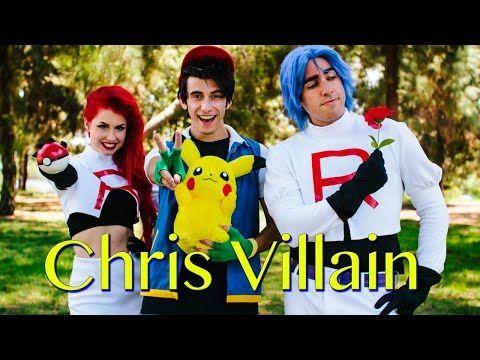 Pokemon Theme Song (ft.Jason Paige) - Chris Villain Cover - YouTube