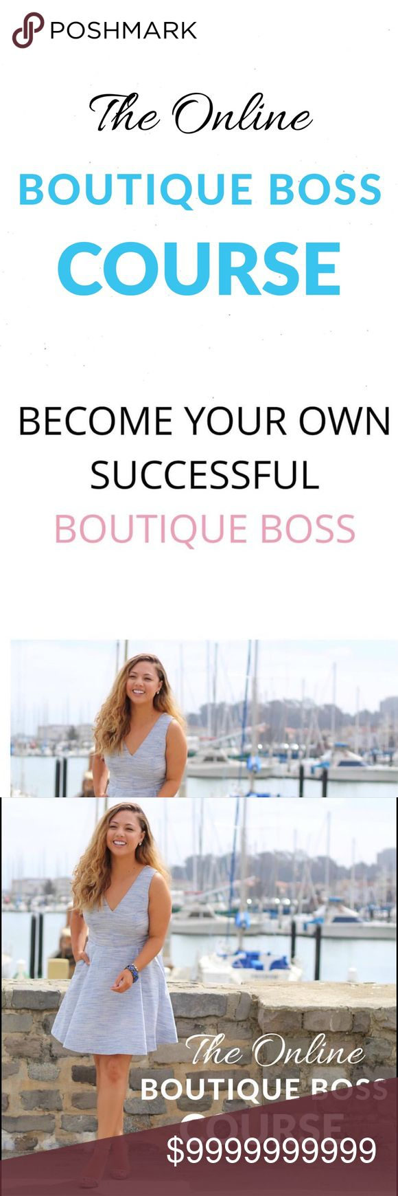[ENROLLMENT OPEN] Online Boutique Boss Course Doors are now officially open to join the Online Boutique Boss Course!  If you're ready to learn how to start and grow your own successful boutique, come on over and join our community! Only open for a limited time.   Get access to enrollment details here: course.onlineboutiqueboss.com MonikaRoseSF Other