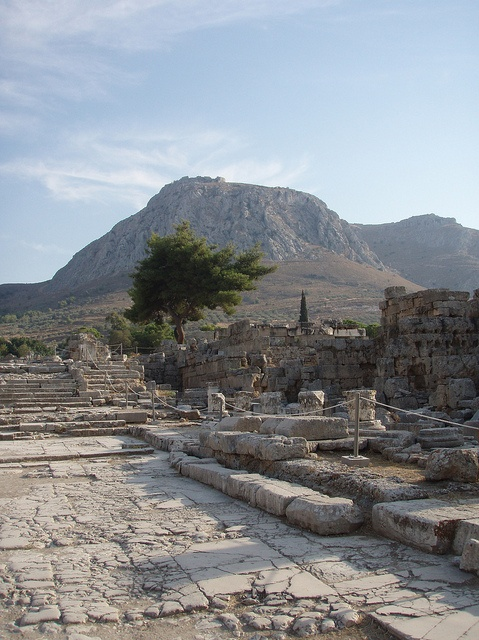 Ancient Corinth {So many trips here with visiting family, but kinda cool now that I'm older!}