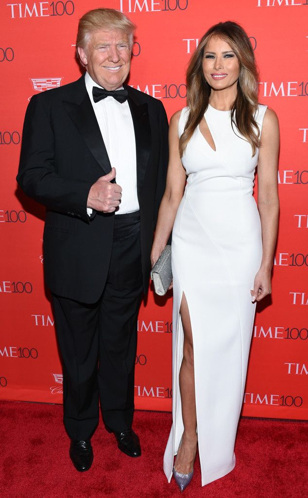"""Melania Trump blasts Donald Trump says his words were offensive but she accepts his apology   Melania Trump the lady who will become America's next first lady if Donald Trump wins the election has denounced her husband's comments about grabbing a pussy.  In an email she said her husband's comments were unacceptable. Melania Trump is speaking out almost 24 hours after audio of a lewd conversation between her husband Donald Trump and Billy Bush was made public. """"The words my husband used are…"""