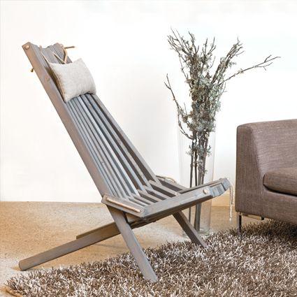 Flex Inredning: Lodge stol - lika fin inne som ute