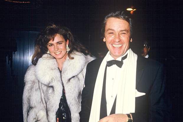 Alain Et Et Rosalie Delon Alain Delon Fur Fashion Celebs