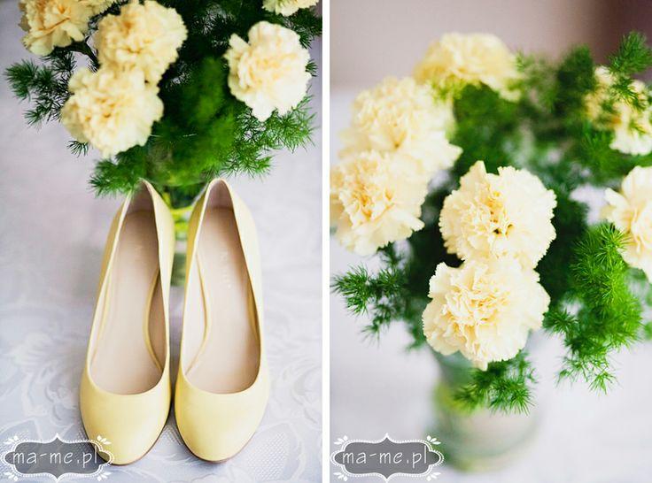 Żółte goździki/ Yellow carnations