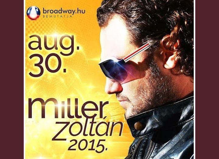 MILLER ZOLTÁN élőzenekaros koncertje - Látványosság/attrakció (pl. múzeumi belépő, kalandpark, nemzeti park belépő) kupon