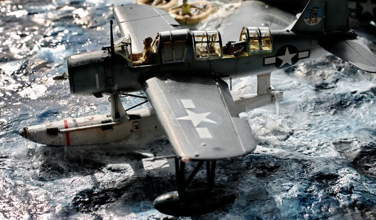 """Chance Vought OS2-U3 """" Kingfisher"""" - Monogram model kit ( out of production ) scale 1:48"""