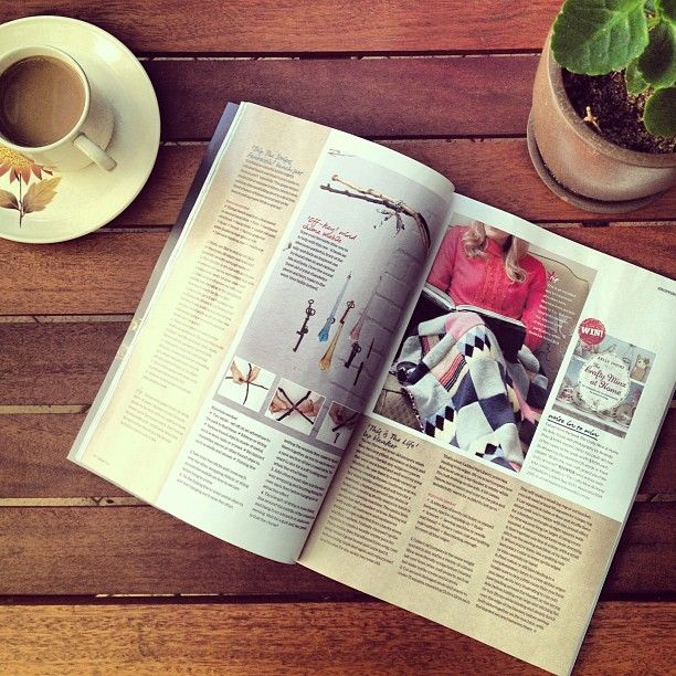 "Thanks to lapinlune for this great Instagram: ""Delicious new copy of @insideoutmag delivered today!"""