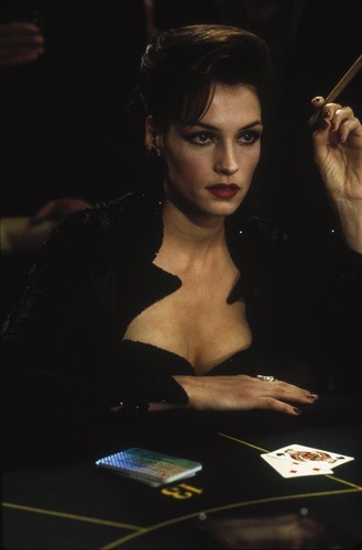 Bond girl Xenia Onatopp (Famke Janssen) in GoldenEye