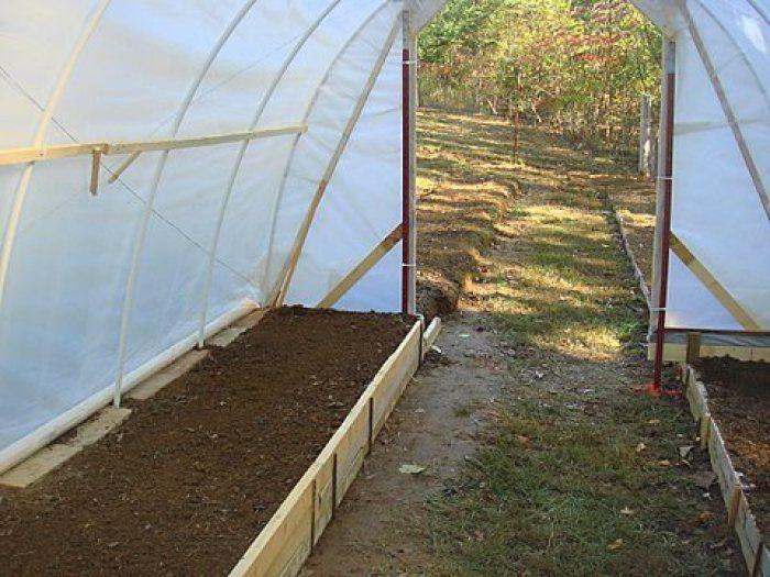 como hacer un invernadero casero paso a paso huertos