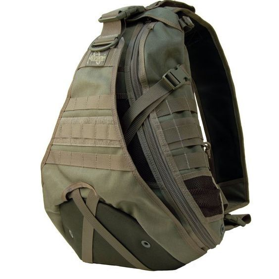 Maxpedition Monsoon Gearslinger Shoulder Sling Tactical Messenger Gear Bag - MAXPEDITION HARD-USE GEAR Tactical Nylon Gear for Military, Law Enforcement, Tactical Concealed Carry; Tailored to Perform Tactical: