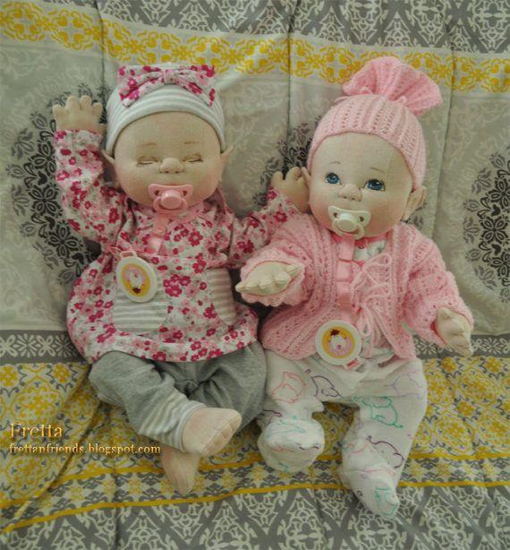 Na zakázku. FRETTA je Newborn Baby Doll. Empatie Dítě.