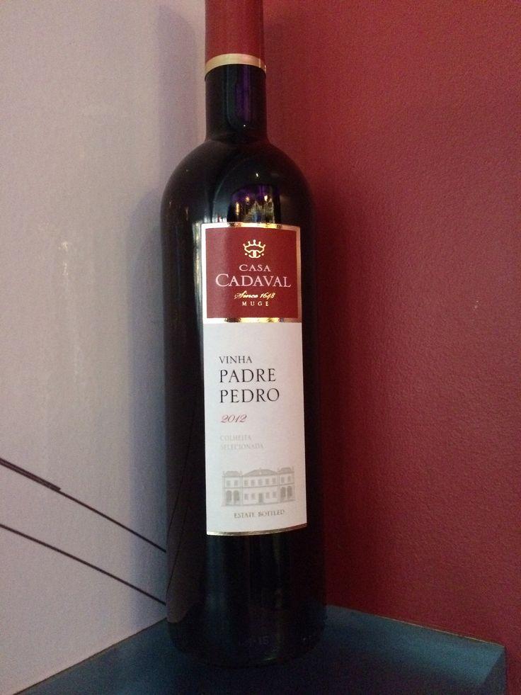 Padre Pedro, Casa Cadaval, Portugal - Tempranillo blend. Red berries, licorice & tobacco.