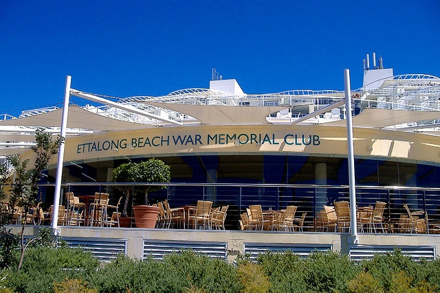 Ettalong Beach - War Memorial Club. by carballoernesto, via Flickr