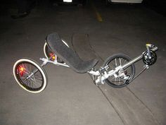 Kee Klamp Recumbant Bike