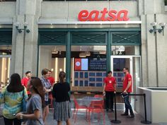The future is now. Well, it certainly feels that way when you walkthrough the doors at the flagship location of Eatsa,anew high-tech fast food restaurant that opens today, Monday, August 31st, n...