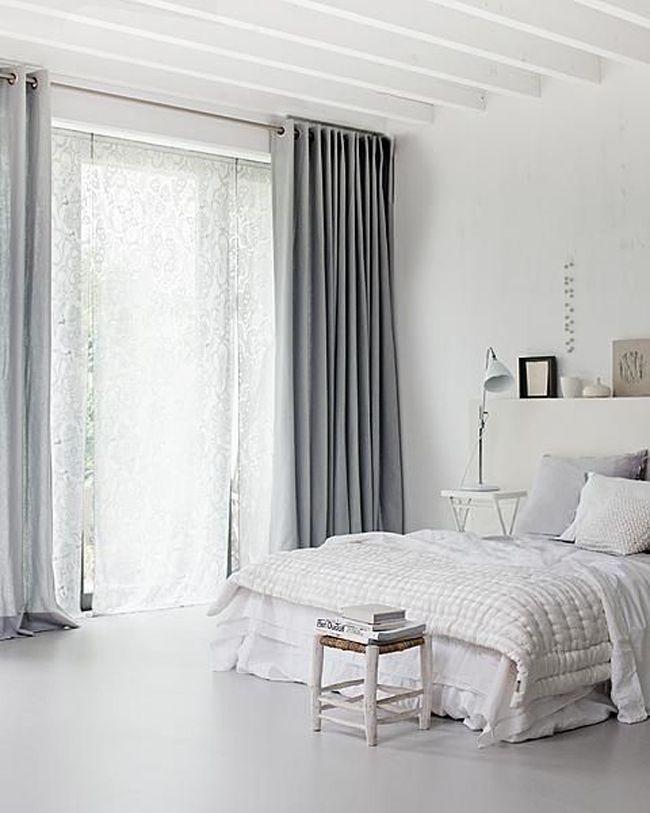 Estores y cortinas en la decoración escandinava | Estilo Escandinavo
