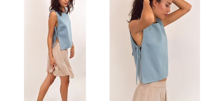 Mira Top - Upcycled collection - NOUMENON
