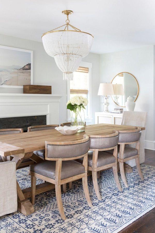 COMO ELEGIR UNA MESA DE COMEDOR / IDOMUM www.idomum.com #comedor #diningroom #diseñodeinteriores #interiordesign #decoideas #mesa #table #mesarectangular #madera #wood #araña