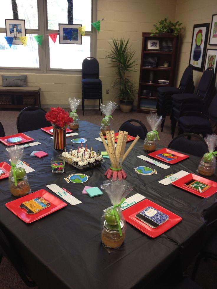Luncheon Decor Teacher Gifts Teacher Luncheon Ideas