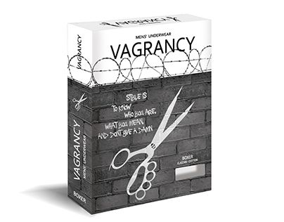 "Check out my @Behance project: ""Mens' Underwear box: Vagrancy"" https://www.behance.net/gallery/23891799/Mens-Underwear-box-Vagrancy"