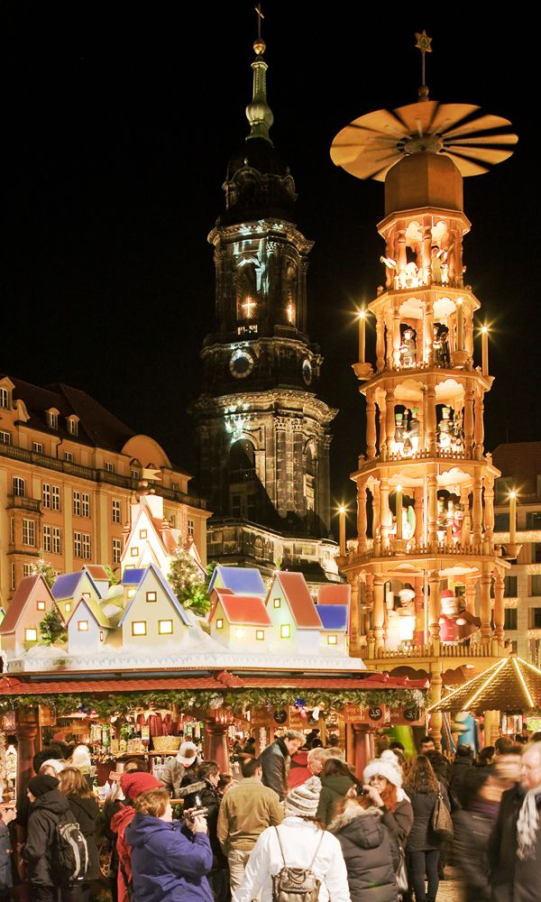 Christmas market in Germany.