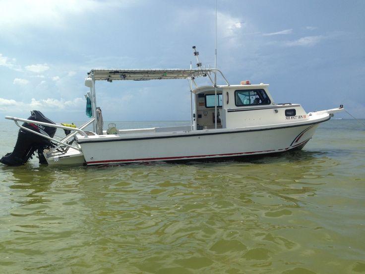 Pilothouse Boat