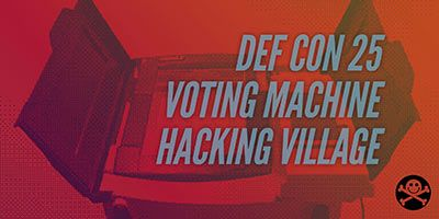 New for DEF CON 25: Voting Machine Hacking Village! From: http://ift.tt/2qfeFcA - https://www.defcon.org