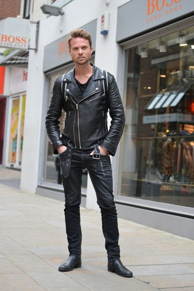 760 best images about Men's leather fashion on Pinterest | Leather ...
