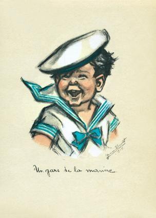 """Germaine Bouret (1907-1953) - """"Un gars de la marine"""""""