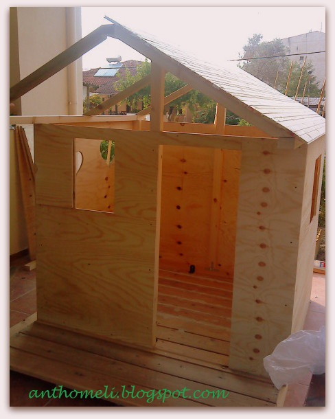 build a wooden play house