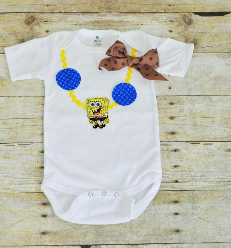 spongebob onesie,spongebob shirt,spongebob necklace,spongebob,girl spongebob onesie,girl spongebob shirt,spongebob,spongebob cake smash by RYLOwear on Etsy