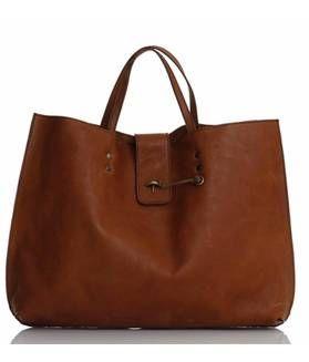 sac-besace, en cuir, à porter à la main ou en bandoulière