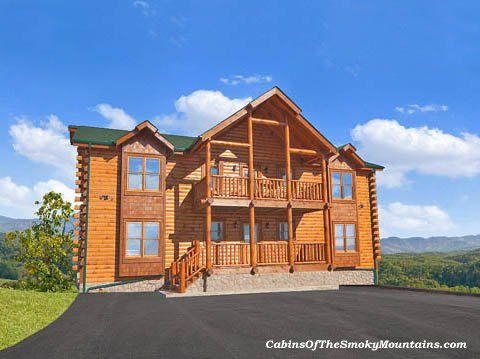 Legacy mansion gatlinburg 12 br cabin group cabins in for Www cabins of the smoky mountains com