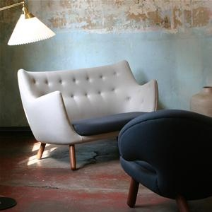 Poeten: Modern Home Offices, Modern Furniture, Chairs, Poets Sofas, Danishes Design, Home Offices Design, Finnjuhl, Finn Juhl, Design Offices