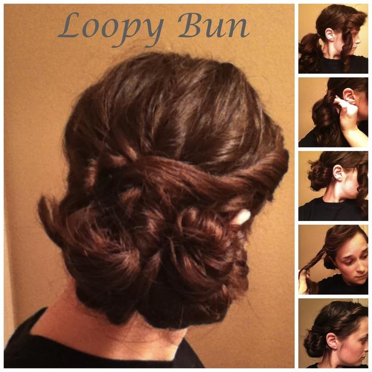 Hair Ideas, Easy Hair, Loopi Buns, Guest Hair, Makeup Hair Clothing
