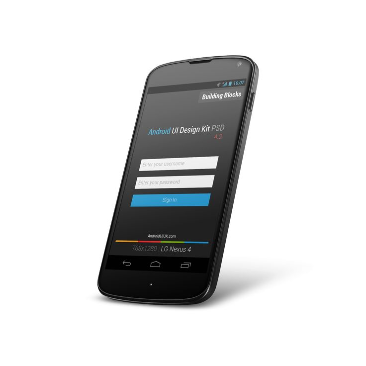 ANDROID UI DESIGN KIT PSD 4.2 [FREE DOWNLOAD]