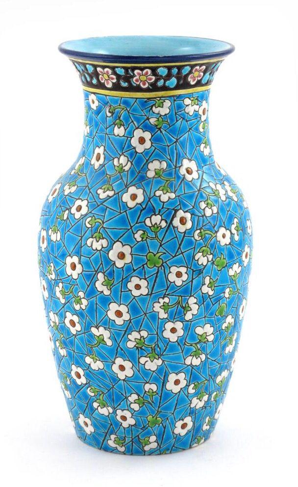 Longwy vase